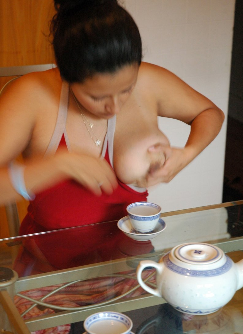 Women with milky tits-5057